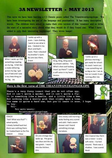 Term 2 Class Newsletter - Mildura West Primary School