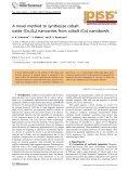 A novel method to synthesize cobalt oxide (Co3O4) - Nanyang ... - Page 2