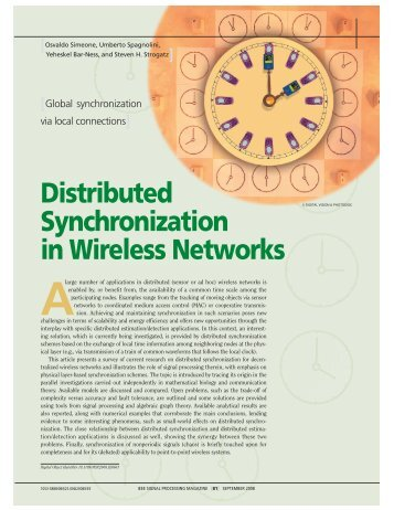 Distributed Synchronization in Wireless Networks - IEEE Xplore