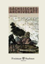 20 SÄCHSISCHES ARCHIVBLATT - Archivwesen - Freistaat Sachsen