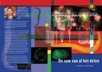 De som van al het delen - Universiteit Utrecht