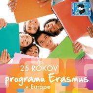 Bulletin - 25 rokov programu Erasmus v Európe