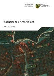 Sächsisches Archivblatt