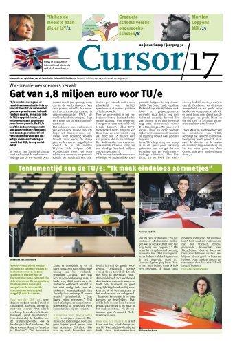 Gat van 1,8 miljoen euro voor TU/e - Technische Universiteit ...