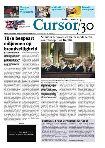 Cursor 30 - Technische Universiteit Eindhoven