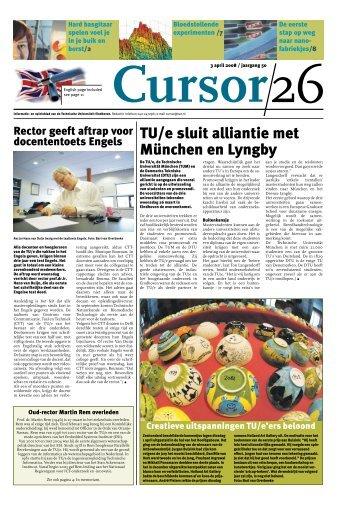 Cursor 26 - Technische Universiteit Eindhoven