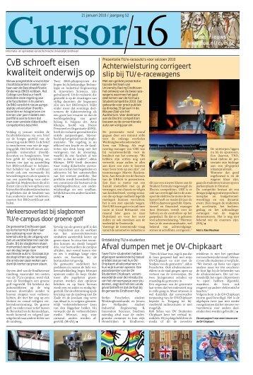 Cursor 16 - Technische Universiteit Eindhoven