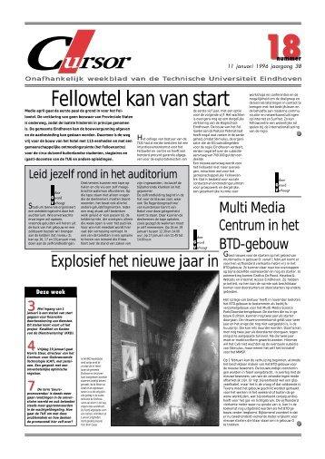Cursor 1996-18 - Technische Universiteit Eindhoven