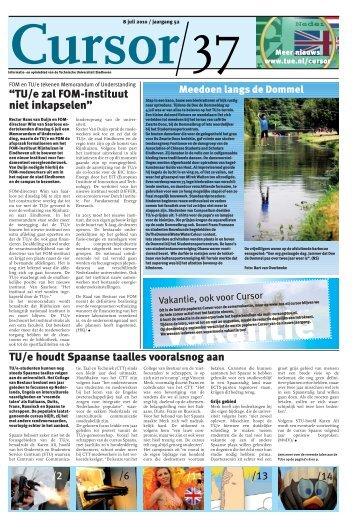 cursor 37 - Technische Universiteit Eindhoven