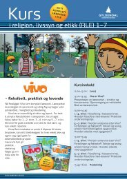100055 Invitasjon RLE-kurs barnetrinnet GR 10-100 ... - Gyldendal