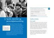 Språk, identitet og personlighetsutvikling - Gyldendal Norsk Forlag