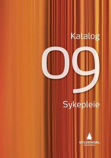 Katalog Sykepleie - Gyldendal Norsk Forlag