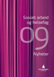 Katalog helse- sosialfag - Gyldendal Norsk Forlag