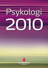 Kat.PSYK - Gyldendal Norsk Forlag