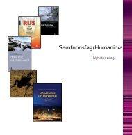 Samfunnsfag/Humaniora - Gyldendal Norsk Forlag