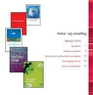 Nyheter 2010 - Gyldendal Norsk Forlag