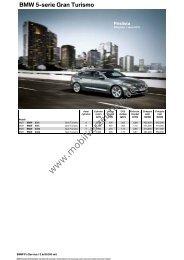 BMW 5-serie Gran Turismo - mobilverzeichnis.de