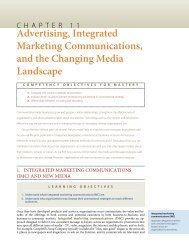 Advertising, Integrated Marketing Communications, and the ...