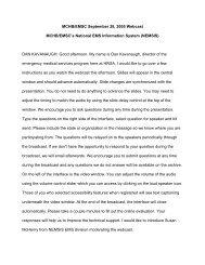 Transcript (pdf) - HRSA
