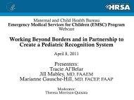 Pediatrics - HRSA