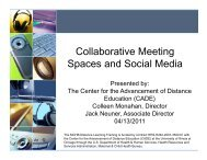 Collaborative Meeting Collaborative Meeting Spaces and ... - HRSA