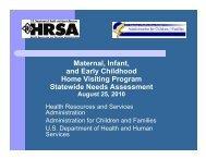 Needs Assessment - HRSA