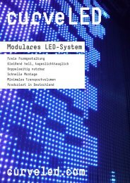 Modulares Led-System