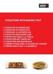 PIZZASTONE WITH BAKING TRAY - Griller Shop