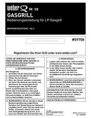 GASGRILL - Weber