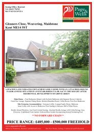 Gleaners Close, Maidstone, Kent ME14 5ST - The Guild of ...