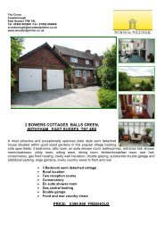 2 Bowers Cottages Balls Green Withyham East Sussex TN7 4BX