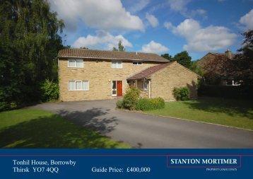 Tonhil House, Borrowby Thirsk YO7 4QQ Guide Price ... - Expert Agent