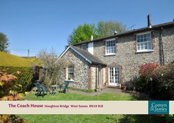 The Coach House Houghton Bridge West Sussex BN18 9LR
