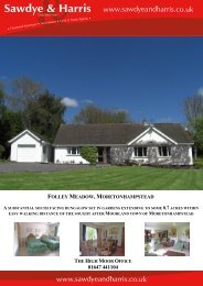 folley meadow,moretonhampstead - The Guild of Professional ...