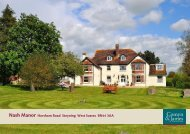 Nash Manor Horsham Road Steyning West Sussex BN44 3AA