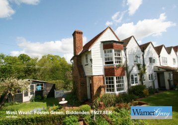 West Weald, Fosten Green, Biddenden TN27 8ER