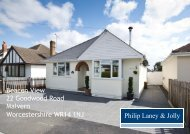 Beacon View 22 Goodwood Road Malvern Worcestershire WR14 1NJ