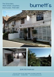 349950 Freehold The Smockery, West Street, Mayfield, East Sussex ...