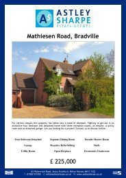 Mathiesen Road, Bradville - The Guild of Professional Estate Agents