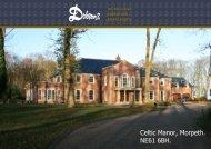 Celtic Manor, Morpeth. NE61 6BH. - The Guild of Professional Estate ...