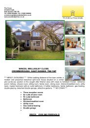 wincel wellesley close, crowborough, east sussex tn6 1qp price