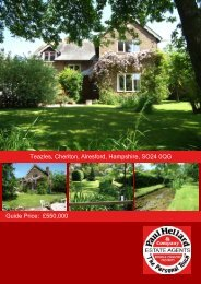 Teazles, Cheriton, Alresford, Hampshire, SO24 0QG Guide Price ...