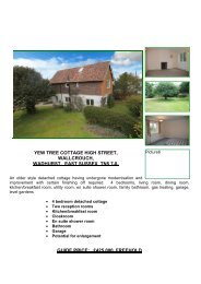 yew tree cottage high street, wallcrouch, wadhurst, east sussex tn5 ...