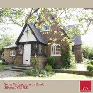 Swiss Cottage, Sheepy Road, Sibson CV13 6LE
