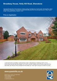 Broadway House, Holly Hill Road, Shenstone - The Guild of ...