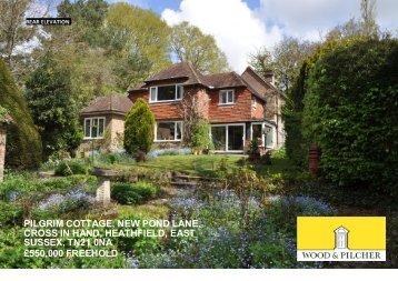 pilgrim cottage, new pond lane, cross in hand, heathfield, east ...