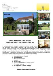 upper misbourne farm nutley, ashdown forest, east sussex tn22 3ln ...