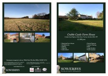 Crabbe Castle Farmhouse~Wighton - Mouseprice