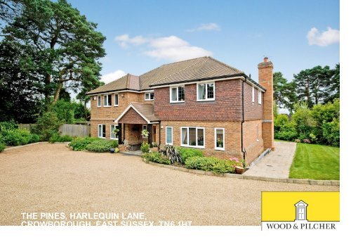 the pines, harlequin lane, crowborough, east sussex, tn6 1ht ...