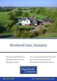 Brookend Lane, Kempsey